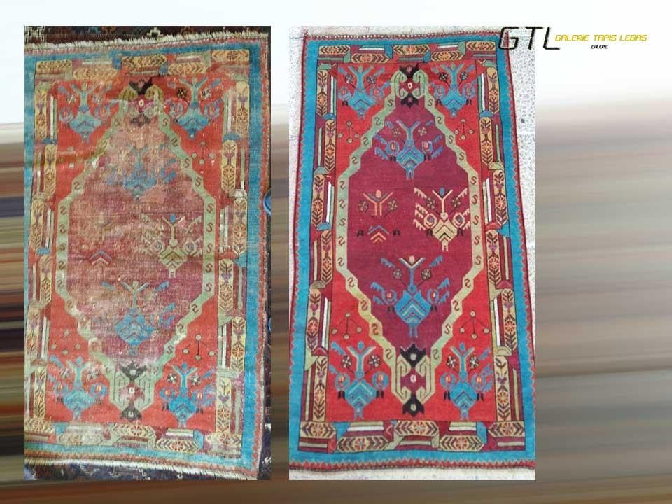 Retrouver les couleurs de votre tapis - Galerie Paris 5