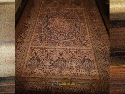 Restauration de tapis d'Orient d'époque Saint-Paul-de-Vence